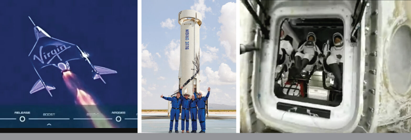 Marketing the space tourism launches